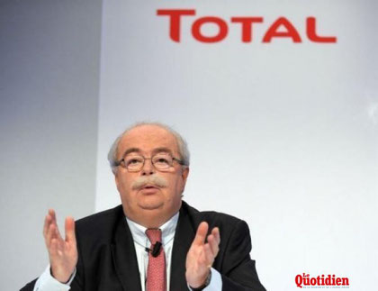 Monsieur Christophe de Margerie,  PDG de TOTAL