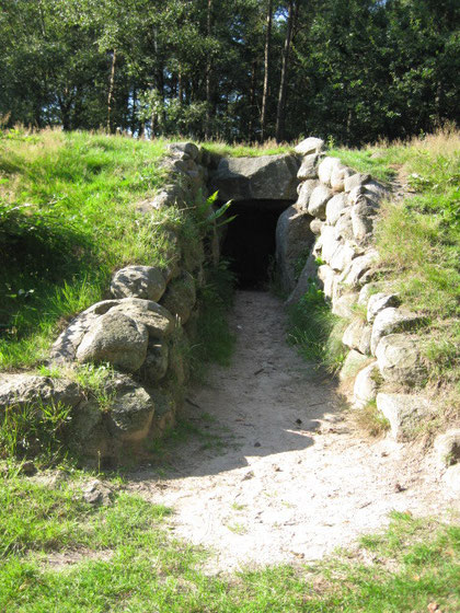 Eingang zum Königsgrab  Foto: (c)AReners