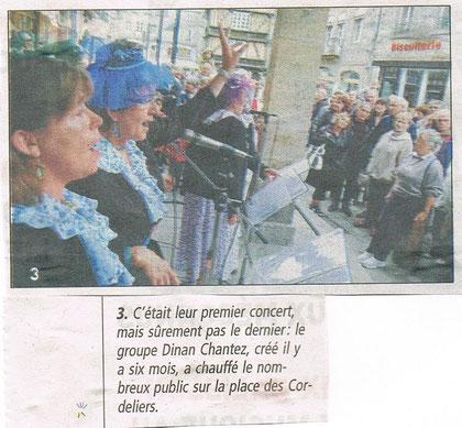 Le Télégramme 22 juin 2011