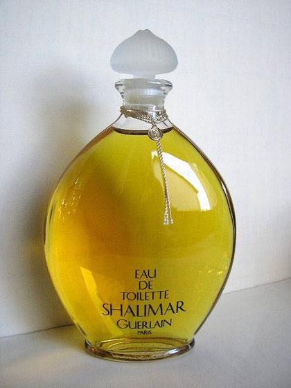 1924 - SHALIMAR - EAU DE TOILETTE 500 ML - FLACON OVOÏDE AVEC BOUCHON EN VERRE