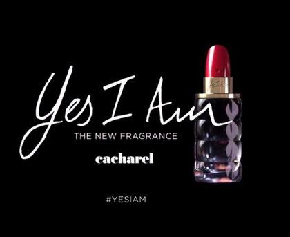 2018 - CACHAREL : YES I AM : NOUVELLE FRAGRANCE