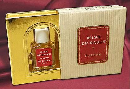 MINIATURE DE RAUCH : MISS DE RAUCH PARFUM