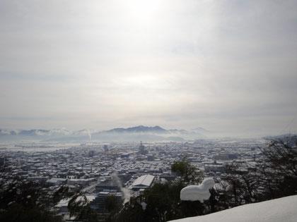 文殊山と日野山