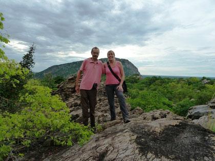 Wanderer bei den Tsodillo Hills