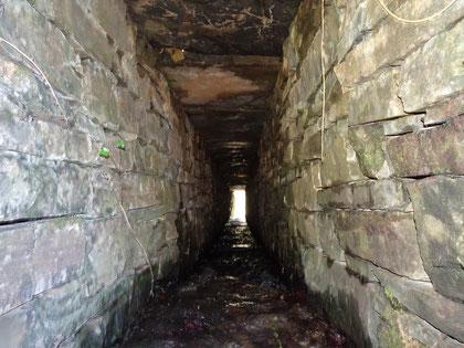 Voici un aqueduc réalisé lors du règne Napoléon III, situé dans la forêt du Bager d'Oloron- Photo ACCOB