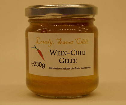 Wein-Chili Gelee von Lovely, Sweet Chili