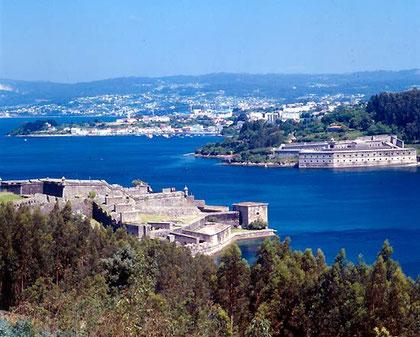 Ferrol, punto di partenza, sull'Atlantico