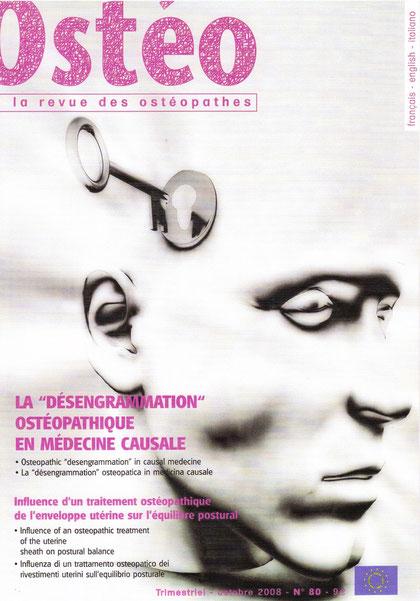 Revue OSTEO -  Octobre 2008