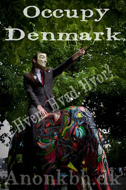 Occupy Denmark – 15 Oktober kl 15 Rådhuspladsen i København