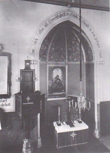 Altarraum vor der Renovierung