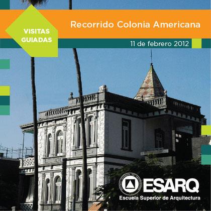 1era ruta, Colonia Americana