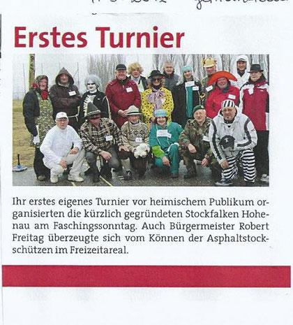 Gemeindeblatt März 2012