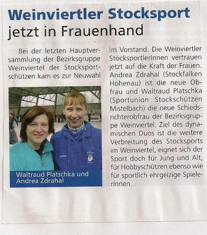 Mistelbacher Stadtblatt