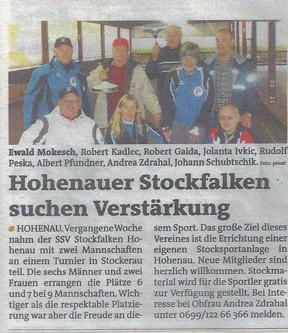 Bezirksblatt November 2011