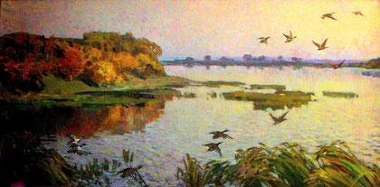«Утки над Супоем»., 1975