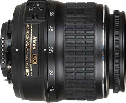 Nikon 18-55mm f/3.5-5.6 DX