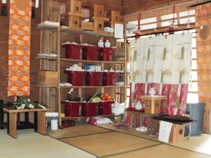 神饌5(仮神饌所)