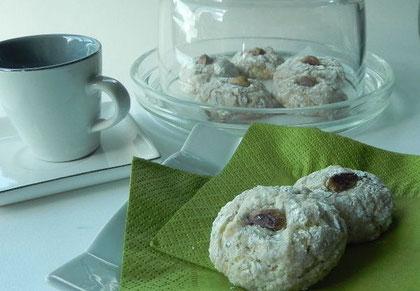 Cliquez ici pour voir la recette des Biscuits tendres aux pistaches, sans gluten et sans lactose
