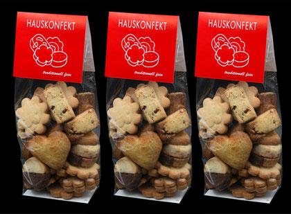 Hauskonfekt von der Bäckerei-Konditorie Spicher in Gunten am Thunersee