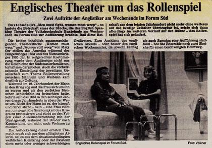 Buxtehuder Tageblatt, Oct. 1990