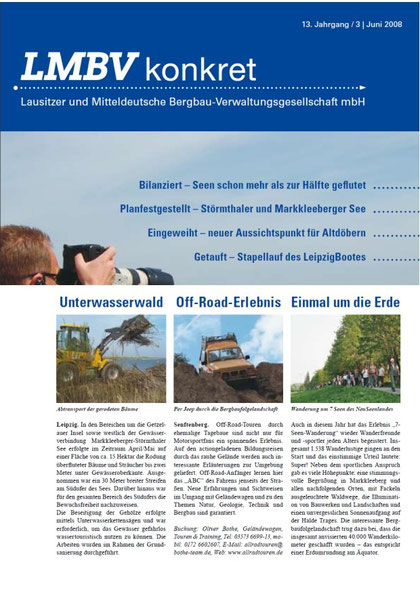 Beitrag im LMBV Magazin