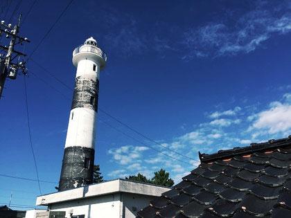 黒瓦と灯台、ですとか、