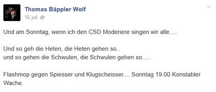 Screenshot: facebook.com/baepplerwolf