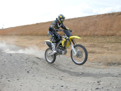 OJA's ride on RM-Z250 @ Dirt Sports