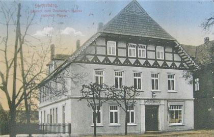 Das beliebte Haus um 1900