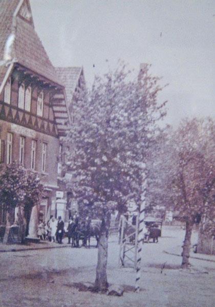 Eine alte Aufnahme um 1880