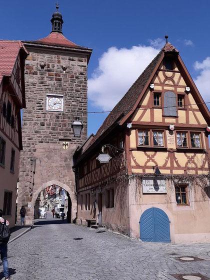 Altstadtszene Rothenburg