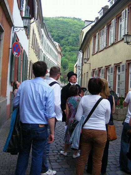 Stadtrallye Heidelberg mit Zeitzeugen