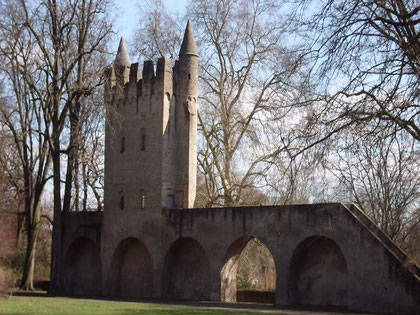 Die Stadtmauer in Speyer