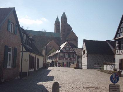 In der Altstadt von Speyer