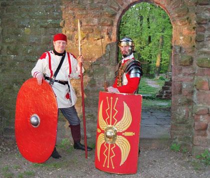 Regensburg römische Legionäre