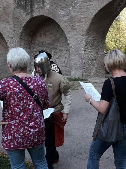 Historische Personen , Speyer Stadtrallye