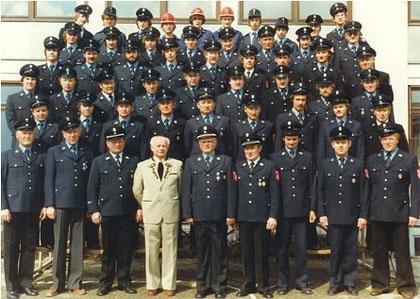 Gruppenfoto mit Bürgermeister Norbert Spieske