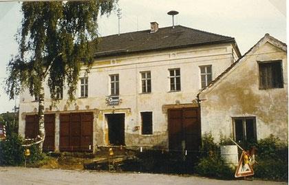 Das Feuerwehrhaus vor dem Umbau im Jahre 1979