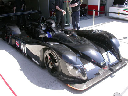 Reynard 02S @ 2004 Le Mans as the Zytek 04S