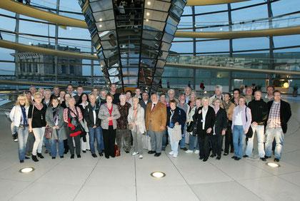 Die komplette Gruppe der Informationsfahrt