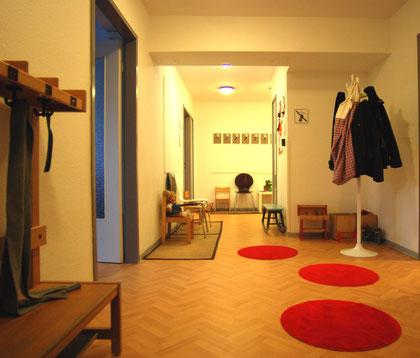Barrierefreie und behindertengerechte Praxis dreipunkt Therapiezentrum im Zentrum von Hamburg am Großneumarkt/ Hamburg Neustadt