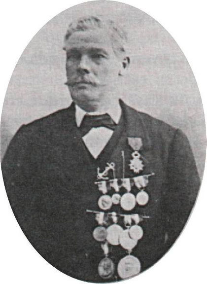 Esprit le Mat 1838-1905 Pilote et patron du canot de sauvetage de Roscoff