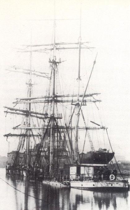 1907 le Mezly coulé dans le port de Port-Talbot, suite à l'explosion de poussière de charbon