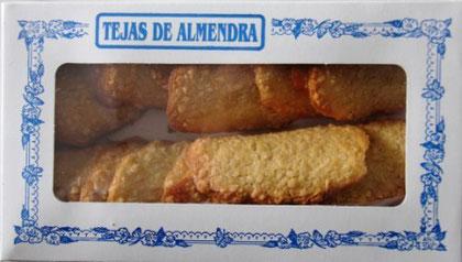 TEJAS DE ALMENDRA