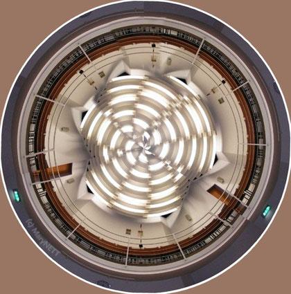 Zuschauertribüne im Löhner Ratsaal