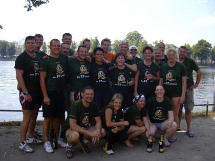 Das Team im Jahr 2004.