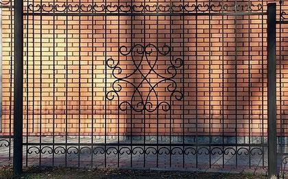 секционный забор 6.300 руб. п/метр.