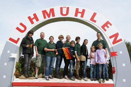 Auf der Europameisterschaft der Vielseitigkeitsreiter 2011 in Luhmühlen