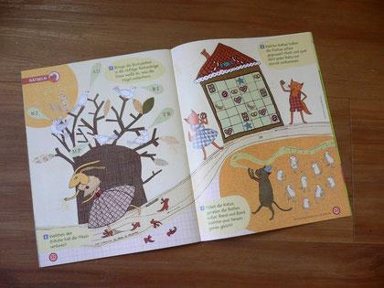 Märchen-Rätselillustration für GEOmini