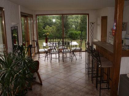 """Le salon """"jardin d'hiver"""""""